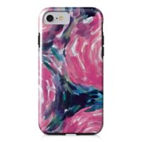 Designs Direct Painterly Flowers Tough Case for iPhone 7 in Pink