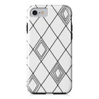 Designs Direct Diamond Sketch Tough Case for iPhone 7 in Black