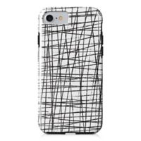 Designs Direct Drizzle Tough Case for iPhone 7 in Charcoal