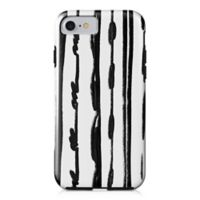 Designs Direct Sketched Lines Tough Case for iPhone 7 in Black