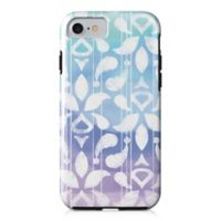 Designs Direct Watercolor Ikat Tough Case for iPhone 7 in Blue