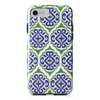 Designs Direct Moroccan Tile Tough Case for iPhone 7 in Blue
