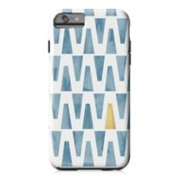 Designs Direct Watercolor Triangles Tough Case for iPhone 6 Plus in Blue