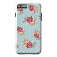 Designs Direct Floral Dot Pattern Tough Case for iPhone 6 Plus in Blue