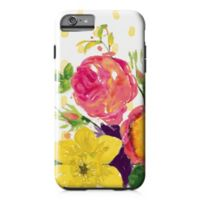 Designs Direct Confetti Flowers Tough Case for iPhone 6 Plus in Pink