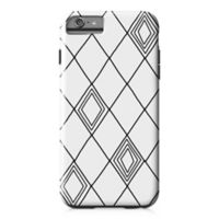 Designs Direct Diamond Sketch Tough Case for iPhone 6 Plus in Black