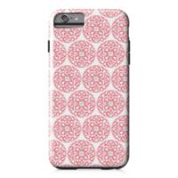 Designs Direct Moroccan Circles Tough Case for iPhone 6 Plus in Coral Pink