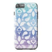 Designs Direct Watercolor Ikat Tough Case for iPhone 6 Plus in Blue