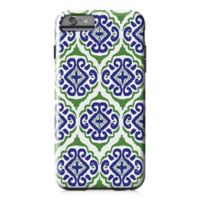 Designs Direct Moroccan Tile Tough Case for iPhone 6 Plus in Blue