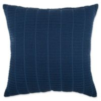 Make-Your-Own-Pillow Zaylie Square Throw Pillow Cover in Navy