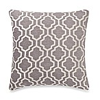 Make-Your-Own-Pillow Lyssa Square Throw Pillow Cover in Grey