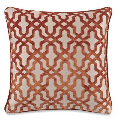 buy lattice square throw pillow from bed bath beyond