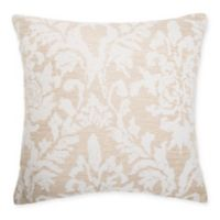 Make-Your-Own-Pillow Gene Square Throw Pillow Cover in Taupe