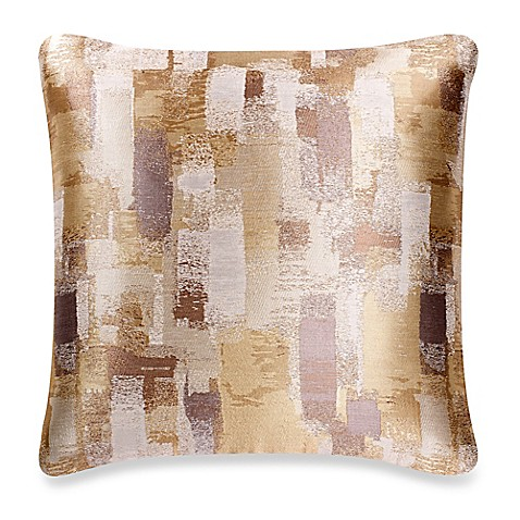 Throw Pillow Covers Bed Bath Beyond : Make-Your-Own-Pillow Mitro Square Throw Pillow Cover in Natural - Bed Bath & Beyond