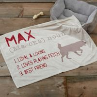 e02a9ad274 Definition of My Dog Fleece Throw Blanket