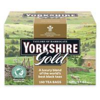 Taylors of Harrogate Yorkshire Gold 160-Count Tea Bags