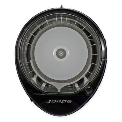 ecojet by joape cassino wall mount misting fan in black - Outdoor Misting Fan