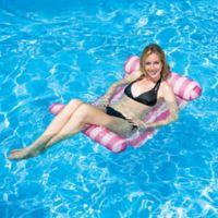 Poolmaster Water Hammock Lounge Pool Float in Pink