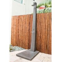 Panama Jack® Graphite Outdoor Patio Shower Stand in Grey