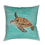 Manual Woodworkers Sea Turtles Square Indoor/Outdoor Throw Pillow