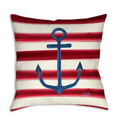 Sailoru0027s Life I Square Indoor/Outdoor Throw Pillow