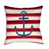 Sailor's Life I Square Indoor/Outdoor Throw Pillow