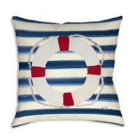 Sailor's Life II Square Indoor/Outdoor Throw Pillow