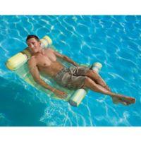 Poolmaster Extra Large Water Hammock Lounge Pool Float in Plaid