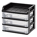 IRIS® Small Desktop Drawer System in Black