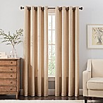 Reina 54-Inch Grommet Top Window Curtain Panel in Ivory