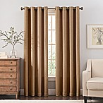 Reina 95-Inch Grommet Top Window Curtain Panel in Sand