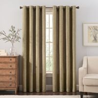 Reina 84-Inch Grommet Top Window Curtain Panel in Green