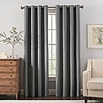Reina 84-Inch Grommet Top Window Curtain Panel in Steel Grey