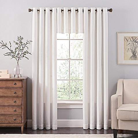 reina window curtain panels and valances bed bath amp beyond 85724