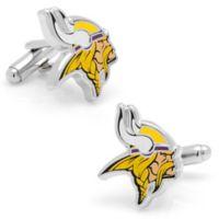 NFL Minnesota Vikings Silver-Plated and Enamel Mascot Cufflinks