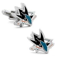NHL San Jose Sharks Cufflinks