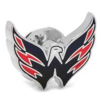 NHL Washington Capitals Silver-Plated and Enamel Lapel Pin