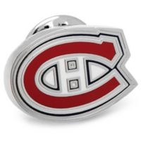 NHL Montreal Canadians Silver-Plated and Enamel Lapel Pin