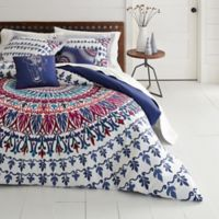 Azalea Skye® Hanna Medallion King Duvet Cover Set in Navy
