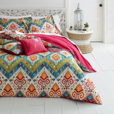 ul grey cotton grande white modern quatrefoil moroccan comforter products set duvet and cover