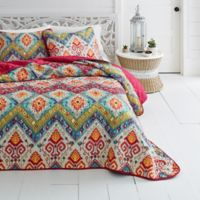 Azalea Skye® Moroccan Nights Full/Queen Quilt Set in Red