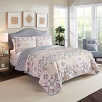 Marble Hill Torrey King Reversible Quilt Set in Pastel