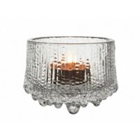 Iittala Ultima Thule 2.5-Inch Tealight Candle Holder in Clear