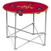 Iowa State University Collapsible Round Table in Red