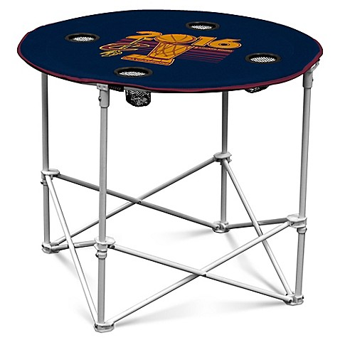 NBA Collapsible Round Table In Navy