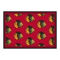 NHL Chicago Blackhawks Repeat 3-Foot 10-Inch x 5-Foot 4-Inch Area Rug