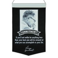 Vince Lombardi Commitment Wall Banner