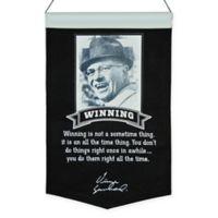 Vince Lombardi Winning Wall Banner