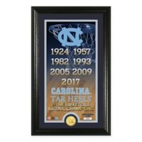 North Carolina 2017 NCAA Men's Basketball National Champions Legacy Bronze Coin Photo Mint