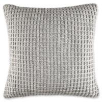 Nautica® Fairwater Knit Throw Pillow in Grey